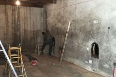 mesure cuve pour perçage paroi beton
