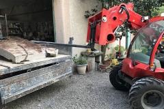 sortie bloc beton avec maniscopic